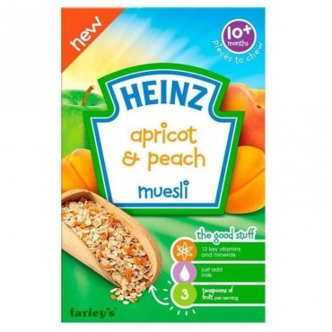 Apricot and Peach Muesli