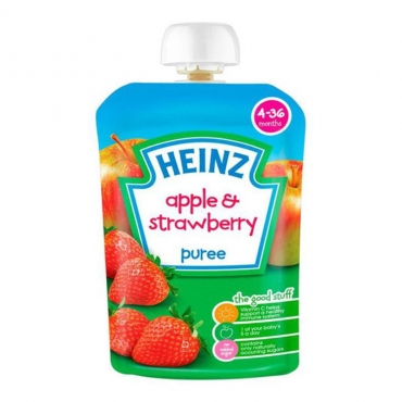 Apple & Strawberry  Puree