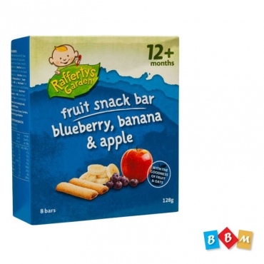 Refferty's Garden snack bar blueberry, banana & apple