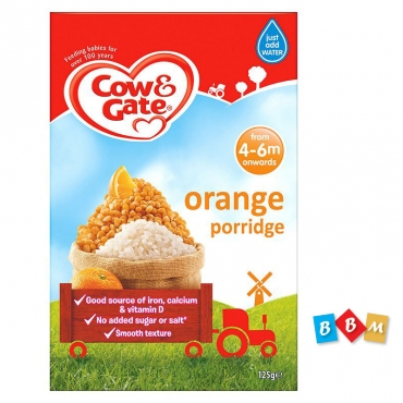 Cow & Gate Orange porridge