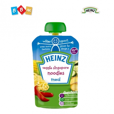 Heinz veggie Singapore noodles meal