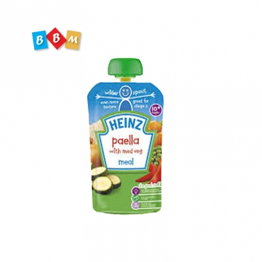 Heinz Pealla with med veg Meal