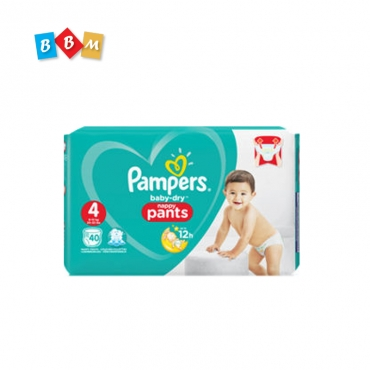 Pampers baby dry pant 4
