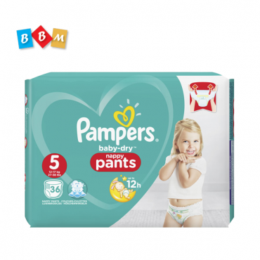 Pampers baby dry pants 5