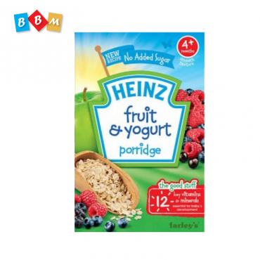 Heinz fruit & Yogurt porridge
