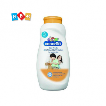 KODOMO  BABY POWDER   Natural Soft Protection  for Sensiive Skin