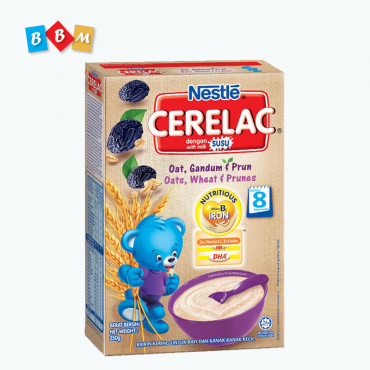 Nestle Cerelac  Oats,Wheat & Prunes