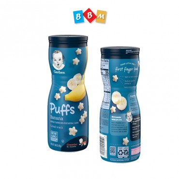 Gerber Puffs Banana Cereal Snack