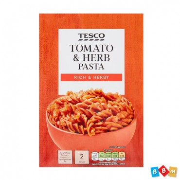 Tesco Pasta In TOMATO & HERB (RICH & HERBY)120G