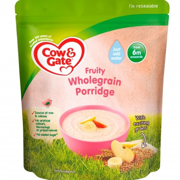 Cow & Gate Fruity wholegrain porridge