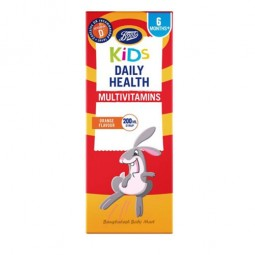 Boots kids daily health multivitamin orrange flavour